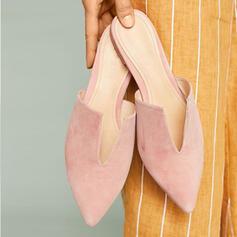 Dla kobiet PU Pozostałe Plaskie Z Tkanina Wypalana obuwie