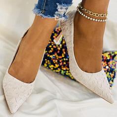 Dla kobiet Tkanina Obcas Stiletto Obcasy Z Jednolity kolor obuwie