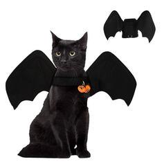 gotyk Nietoperz Halloween Tkanina Kostiumy zwierzaków