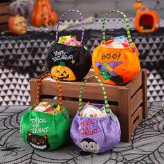 gotyk Nietoperz Halloween Dynia Czarownica Włóknina Rekwizyty na Halloween Torby ze słodyczami