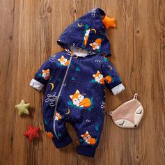 niemowlę Kreskówka Zwierzę Bawełna Jednoczęściowe