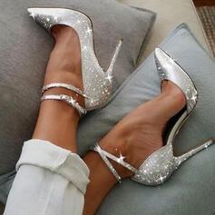 Dla kobiet Byszczący brokat Obcas Stiletto Czólenka Obcasy Z Byszczący brokat obuwie