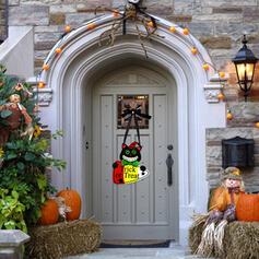 Kolorowe gotyk Przerażające Naścienny Halloween Drewniany Rekwizyty na Halloween Dekoracje na Halloween (Sprzedawane w jednym kawałku)