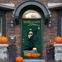 gotyk Halloween Duch Cukierek albo psikus PVC Dekoracje na Halloween Znak werandy