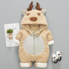 niemowlę Boże Narodzenie Deer Zwierzę Awangardowe Bawełna Jednoczęściowe