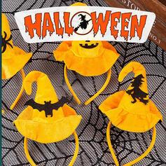 Uroczy Halloween Czarownica Pająk Tkanina PVC Rekwizyty na Halloween