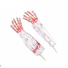 Przerażające Halloween Krew Plastikowy Włóknina Rekwizyty na Halloween (Zestaw 2)