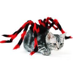 Przerażające Halloween Pająk Plusz Kostiumy zwierzaków