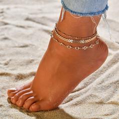 Wyjątkowy Stop Biżuteria plażowa Obrączki (Zestaw 3)