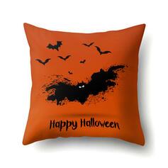 gotyk Nietoperz Halloween Dynia Poliester Dekoracje na Halloween Poszewki na poduszki