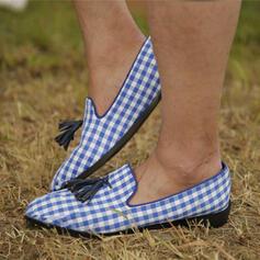 Dla kobiet PU Płaski Obcas Plaskie Z Plecione Ramiączko Kolor splotu obuwie