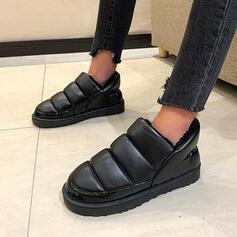 Dla kobiet Material Płaski Obcas Plaskie Tenisówki Z Jednolity kolor obuwie
