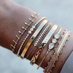 Stop Zestawy biżuterii Bransoletki Zestaw 6 par