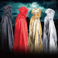 gotyk Halloween Duch Czarownica Tkanina Rekwizyty na Halloween Płaszcz z kapturem