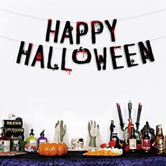 Piękny Przerażające Rysunek Halloween guma Wall Art