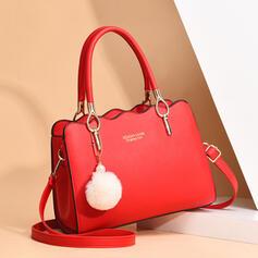 Elegant/Delicate/Classical/Lichee Pattern/Commuting Tote Bags/Crossbody Bags/Shoulder Bags