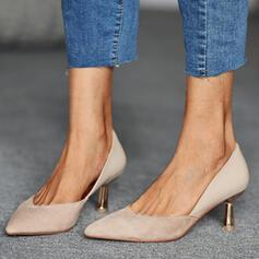 Dla kobiet PU Obcas Stożek Czólenka Obcasy Z Kolor splotu obuwie