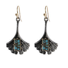 Charming Pretty Artistic Romantic Alloy With Leaf Women's Earrings