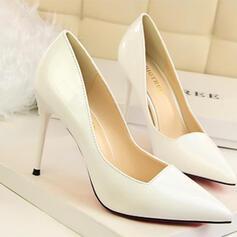 Dla kobiet PU Obcas Stiletto Czólenka Z Jednolity kolor obuwie