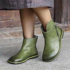 Dla kobiet Skóra ekologiczna Płaski Obcas Z Jednolity kolor obuwie