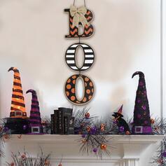 gotyk Dekoracyjny Wiszące Gwizd Drewniany Dekoracje na Halloween Znak werandy