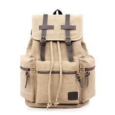 Damskie codzienne plecaki z płótna w stylu vintage