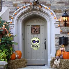 Kolorowe gotyk Przerażające Naścienny Halloween Szkielet Drewniany Rekwizyty na Halloween Dekoracje na Halloween (Sprzedawane w jednym kawałku)