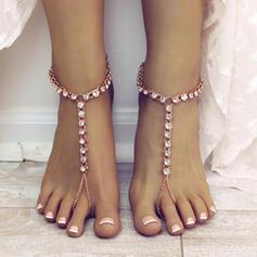 Uroczy Stop Z Cyrkon Biżuteria plażowa Obrączki