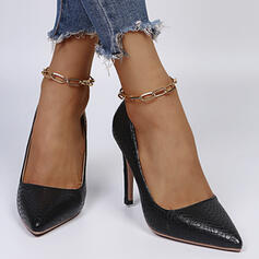 Dla kobiet PU Obcas Stiletto Czólenka Obcasy Z Jednolity kolor obuwie