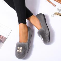 Dla kobiet PU Płaski Obcas Plaskie Z Zdobiony koralikami Coś pozszywanego z kawałków obuwie