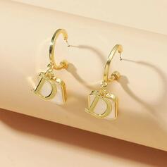 Fashionable Alloy Women's Earrings 2 PCS