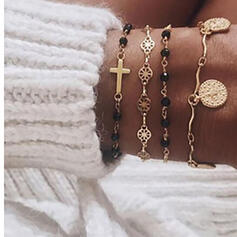 Stop Zestawy biżuterii Bransoletki Komplet 2