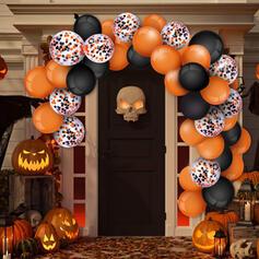Piękny Przerażające Rysunek Halloween Nylon Piłka (Zestaw 80)