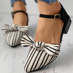 Dla kobiet Mikrofibra Płaski Obcas Plaskie Z Naszywka obuwie