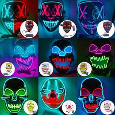 Piękny Przerażające Rysunek Halloween guma Maska