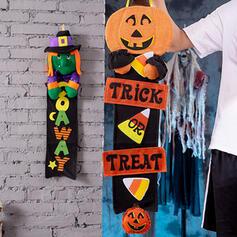 Piękny Przerażające Rysunek Halloween Dynia guma Wall Art