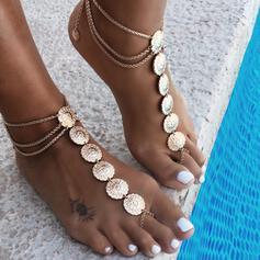 Uroczy Fantazyjny Stop Biżuteria plażowa Obrączki