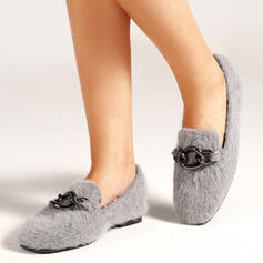 Dla kobiet PU Płaski Obcas Plaskie Z Kolor splotu obuwie