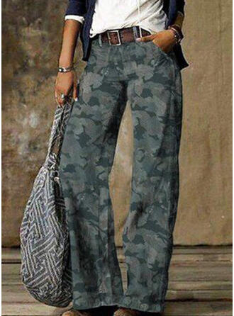 Plus Size Camouflage Tribal Vintage Denim & Jeans