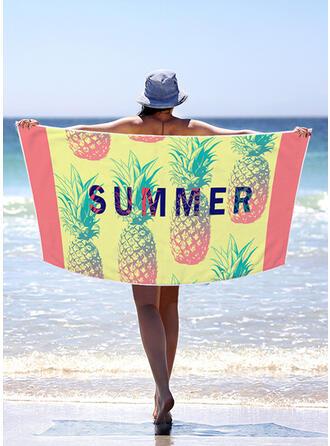 Color Block/Bohemia/Opuszczony/Kolorowy lekkie/Wielofunkcyjny/Bez piasku/Szybkie schnięcie ręcznik plażowy