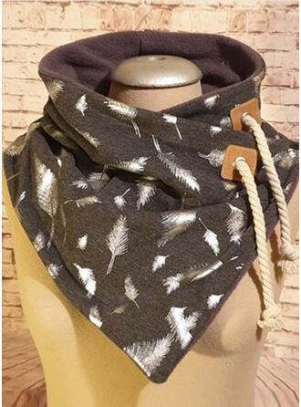Print fashion/Simple Style Scarf