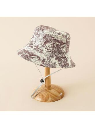 Ladies' Beautiful/Classic/Elegant/Simple Canvas With Flower Beach/Sun Hats/Bucket Hats
