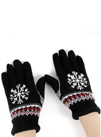 Kwiatowy/Boże Narodzenie prosty/Pełne pokrycie/Boże Narodzenie Rękawiczki