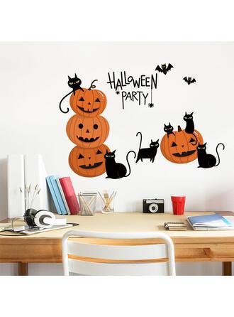 gotyk Halloween Dynia PVC Naklejka Dekoracje na Halloween