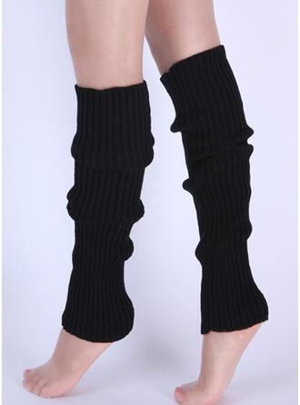 paski/Jednolity kolor Wygodny/Ogrzewacze nóg/Skarpetki do butów Skarpety