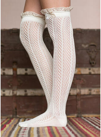 Solid Color/Stitching Warm/Comfortable/Women's/Knee-High Socks Socks/Stockings