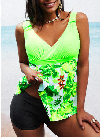 Print Strap Sexy Swimdresses Swimsuits