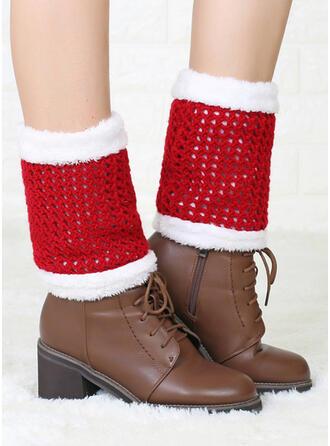 Boże Narodzenie Styl/Christmas Santa Ciepły/Oddychająca/Wygodny/Ogrzewacze nóg/Skarpetki do butów Skarpety