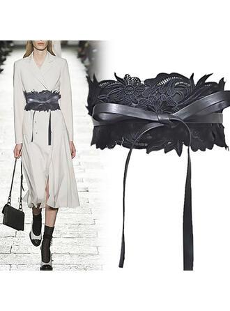 Beautiful Elegant Lace PU Women's Belts