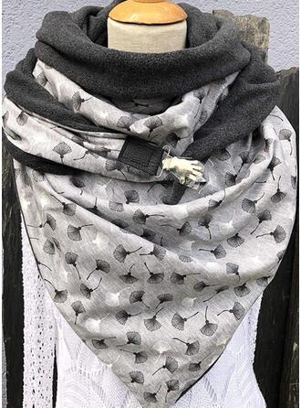 Print/Leaves Shawls/fashion/Comfortable Scarf